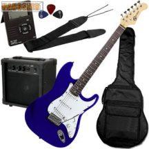 SoundSation SST 611 elektromos gitárpack  kék színú