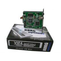Korg VIF4 video  kártya PA-800 és PA 2X Pro- hoz