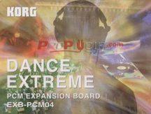 Korg EXB-PCM 04 Dance Extrem hangszínbővítő kártya