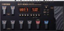Boss GT 100 V2 gitáreffektprocesszor+AJÁNDÉK DR húrszett
