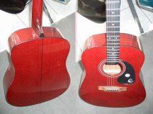 EPIPHONE PR-100/CVR WR vörös western gitár