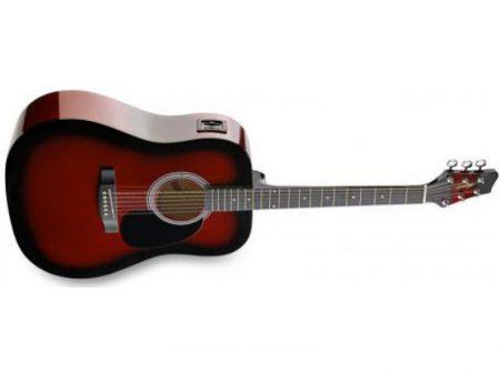 STAGG SW-201-RDS-VT western gitár elektroakusztikus