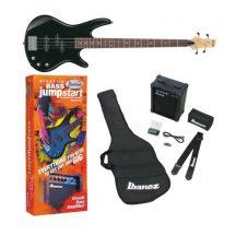 IBANEZ GSR190 JU-BK elektromos basszus gitár szett