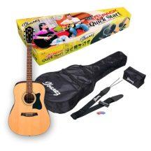 IBANEZ V-50NJP-NT western gitár szett