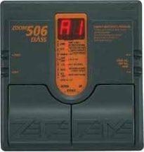 ZOOM 506-os pedálos basszusgitár effekt processzor