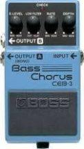 BOSS CEB-3 basszusgitárhoz effekt pedál