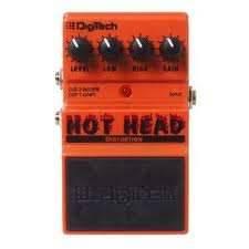 DIGITECH DHH HOT HEAD DISTORTION effekt pedál