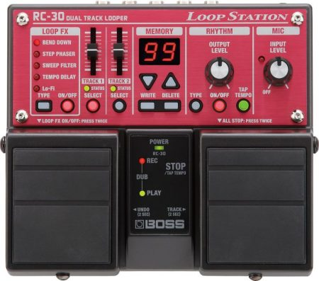 Boss RC-30 loop station pedál