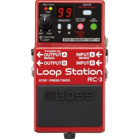 Boss RC-3 loop station pedál