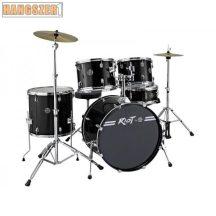 Dixon Riot PODRT 522R Black standard dobszerelés cintányérral, székkel.