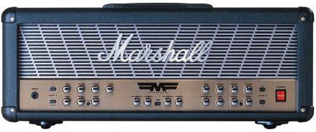 MARSHALL MODE FOUR gitár erősítő fej Jim Marshall személyesen aláírt modeljel