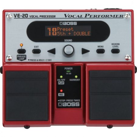 BOSS VE-20 VOCAL PERFORMER vocálgép