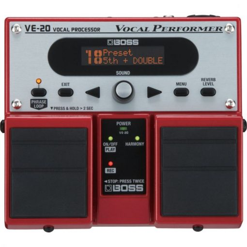 BOSS VE-20 VOCAL PERFORMER vocálgép