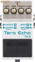 Boss TE-2 Tera Echo visszhangosító pedál