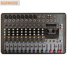 VoiceKraft PM1208 Powermixer, 2x250W/4Ohm