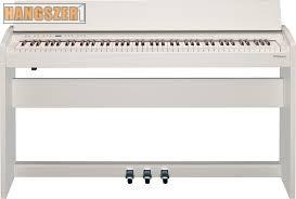 Roland F140 R WH digitális zongora+Ajándék fejhallgató
