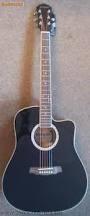 GERYON LD-18 CEQ BK elektro-akusztikus gitár
