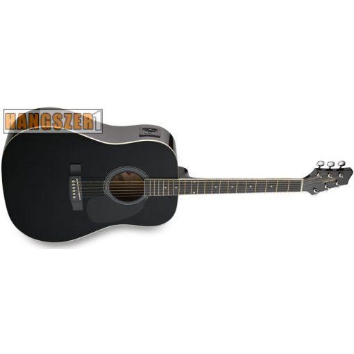STAGG SW-201-BK-VT western gitár elektroakusztikus