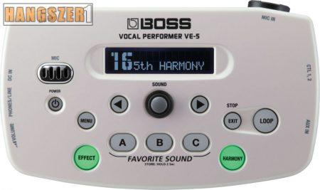 Boss VE-5 WH Vocalgép