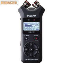 Tascam DR 07X digitális felvevő