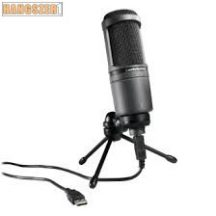 AUDIO-TECHNICA AT 2020 USB + studio mikrofon