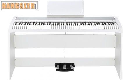 Korg B2SP WH digitális zongora állvánnyal pedálsorral