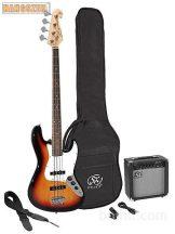 SX SB-1 SK 3TS elektromos basszus gitár szett