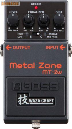 BOSS MT-2W  Metal Zone Waza tórzító pedál