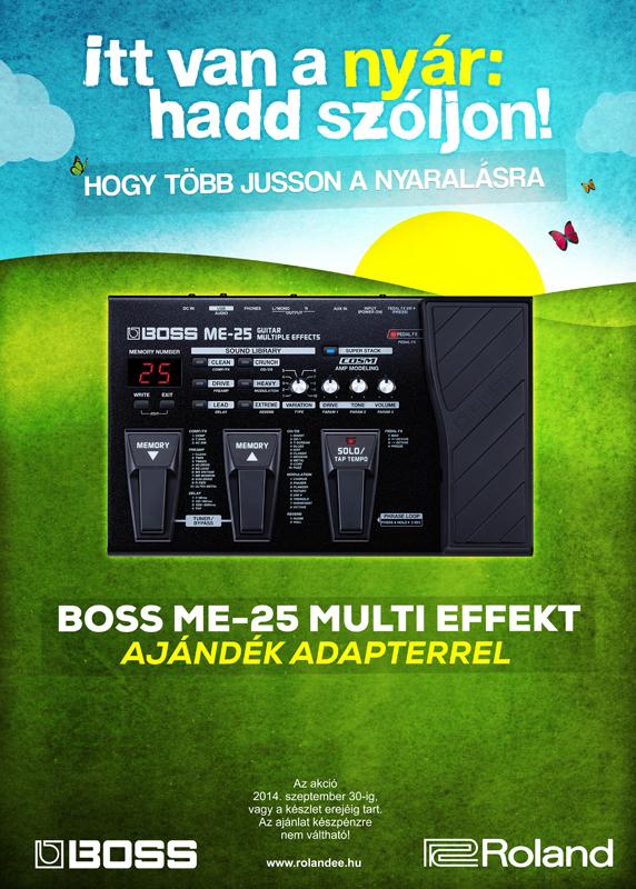 Boss ME-25 akció