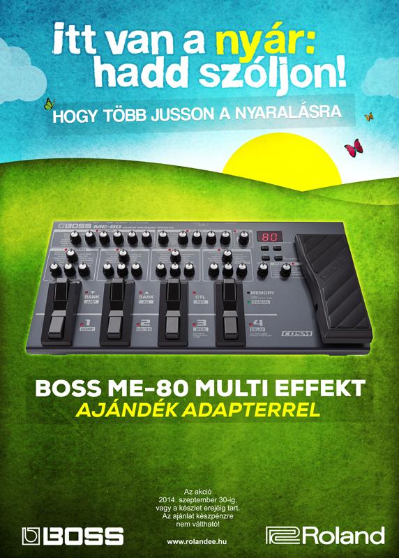 Boss ME-80 akció