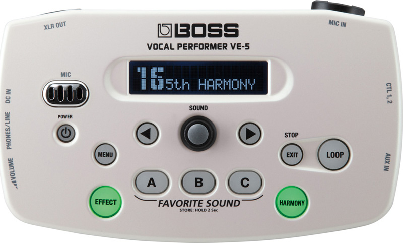 Boss VE-5 vocal effekt