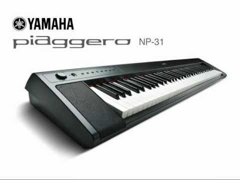 Yamaha NP-31 digitális zongora