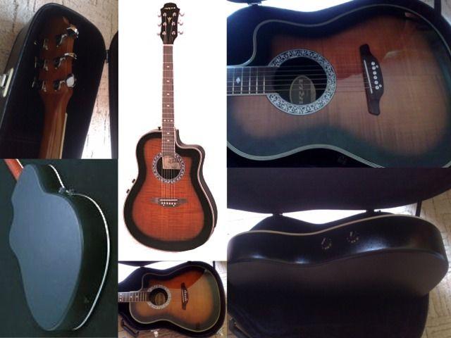 ARIA AMB35 elektroakusztikus gitár