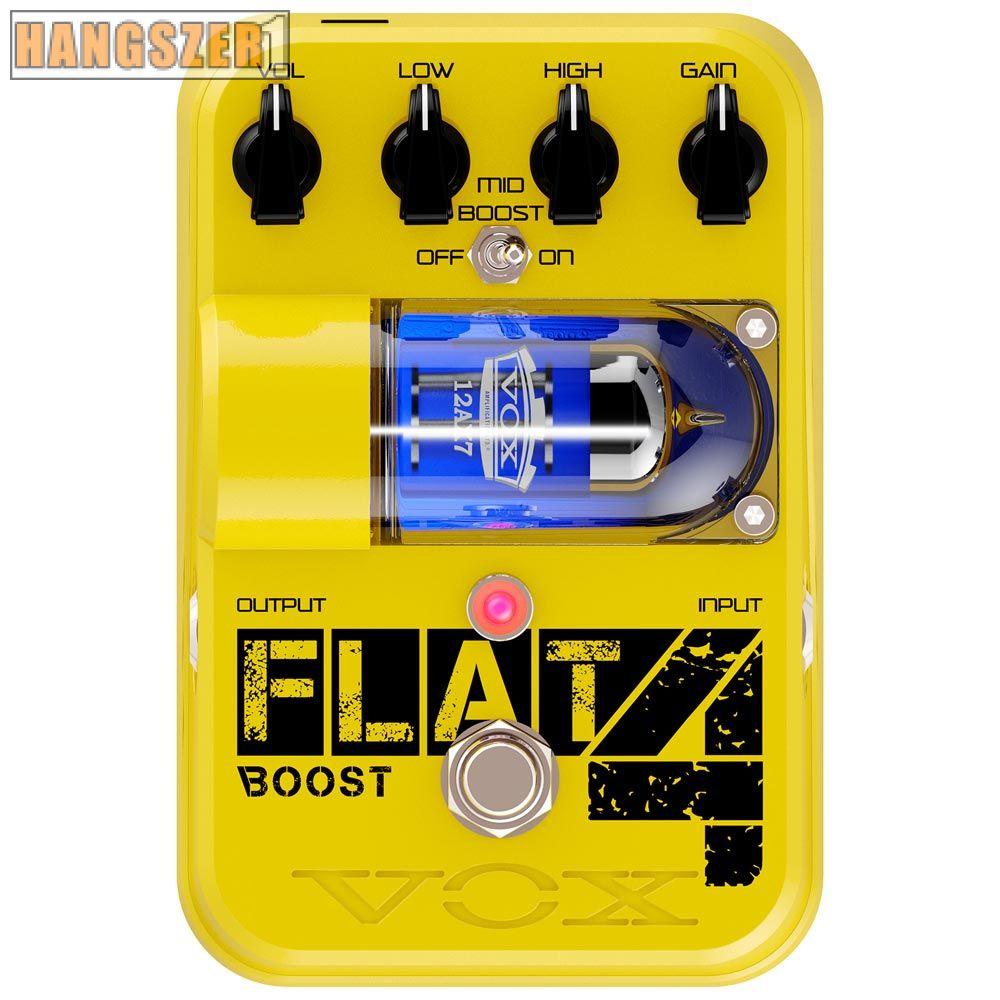 VOX Tone Garage FLAT 4 BOOST csöves gitárpedál