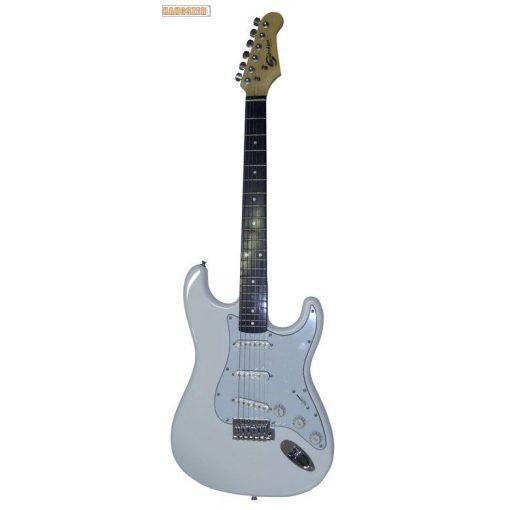 SoundSation SST 611 Stratocaster elektromos gitár fehér