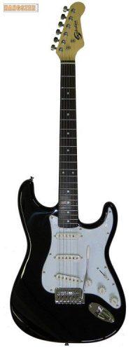 SoundSation SST 611 Stratocaster elektromos gitár fekete