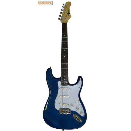 SoundSation SST 611 Stratocaster elektromos gitár kék