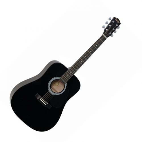 SQUIER ACU. SQ.SA-105 BK western gitár