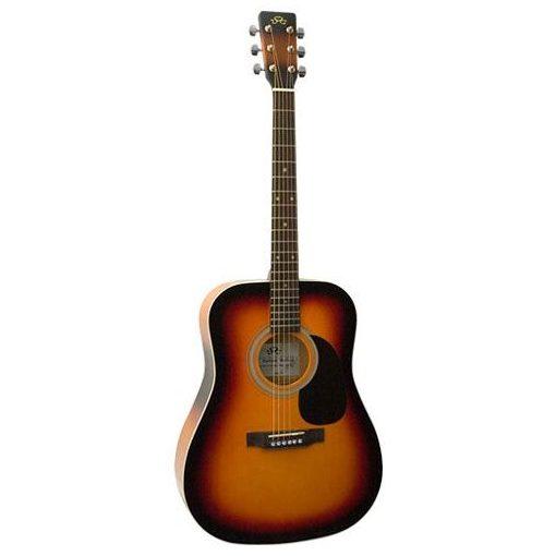 SX MD 160/3TS western gitár