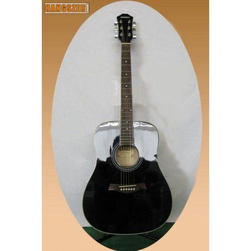 UNIWELL CD-02 BK western gitár
