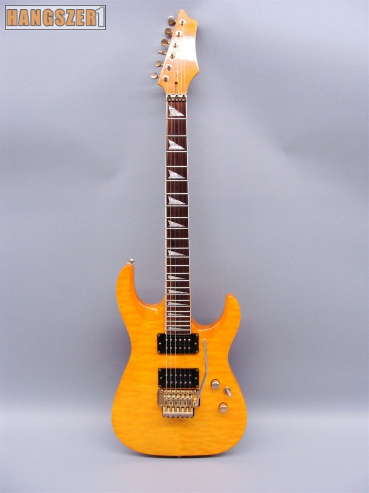 EAST AEG-330 FLOYD ROSE TREMOLO arany színű elektromos gitár