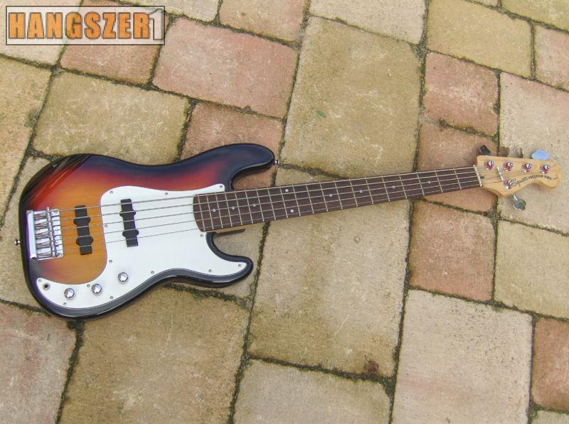 SQUIER PRECISION BASS 5 HÚROS elektromos basszus gitár