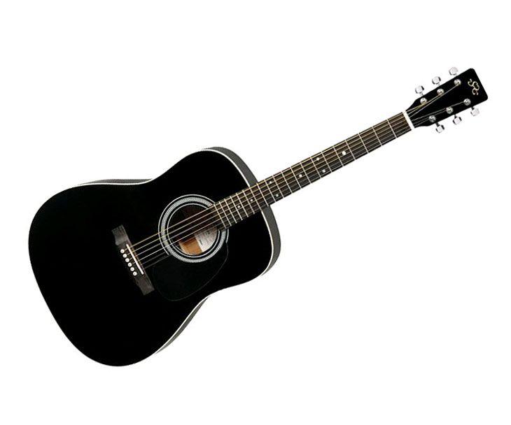 SX MD160 BK western gitár