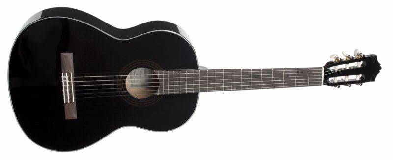 YAMAHA C40 BL klasszikus gitár fekete +Ajándék hangológép