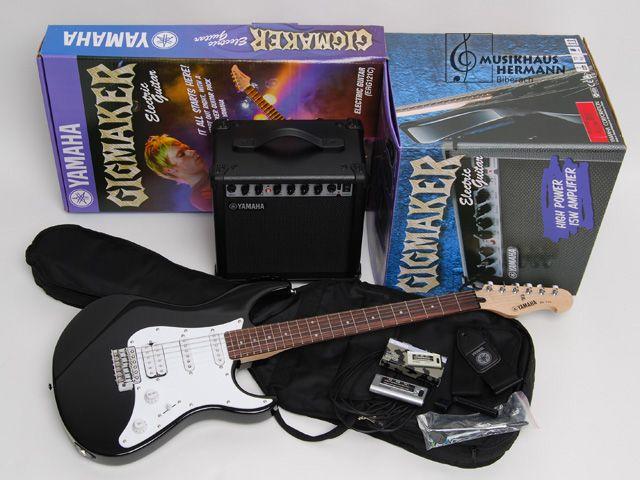 YAMAHA EG 112 GP II BL elektromos gitár szett
