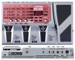BOSS ME-20B basszusgitár effekt processzor