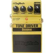 DIGITECH XTD TONE DRIVE effekt pedál