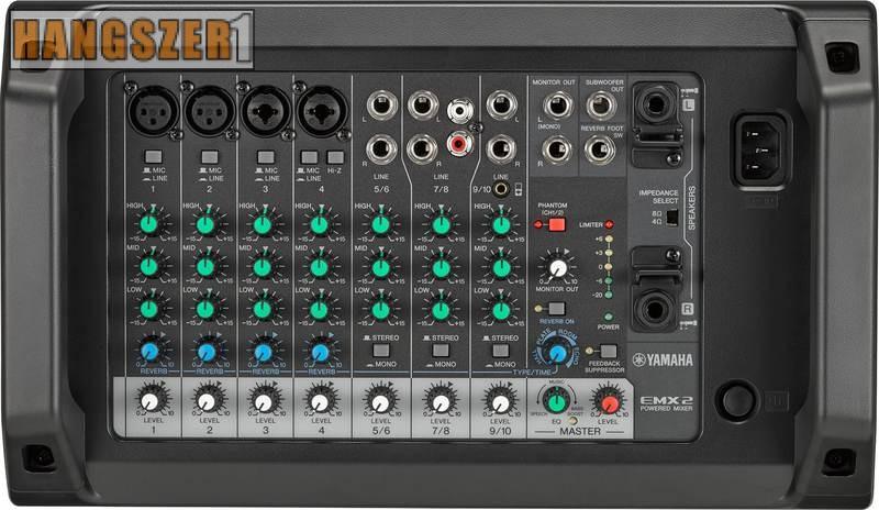 YAMAHA EMX 2 power mixer keverő erősítő