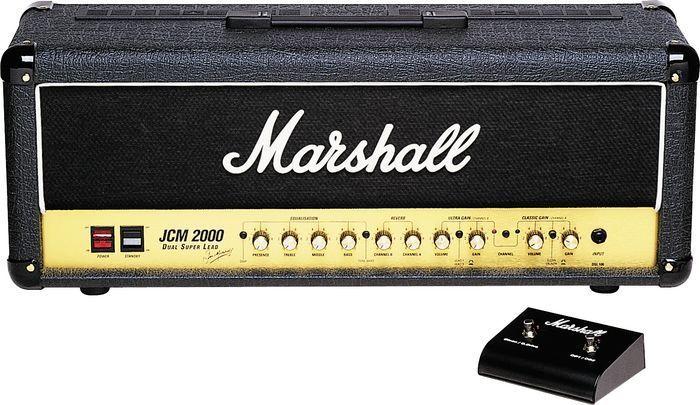 MARSHALL DSL 100 gitár erősítő fej originált made in England