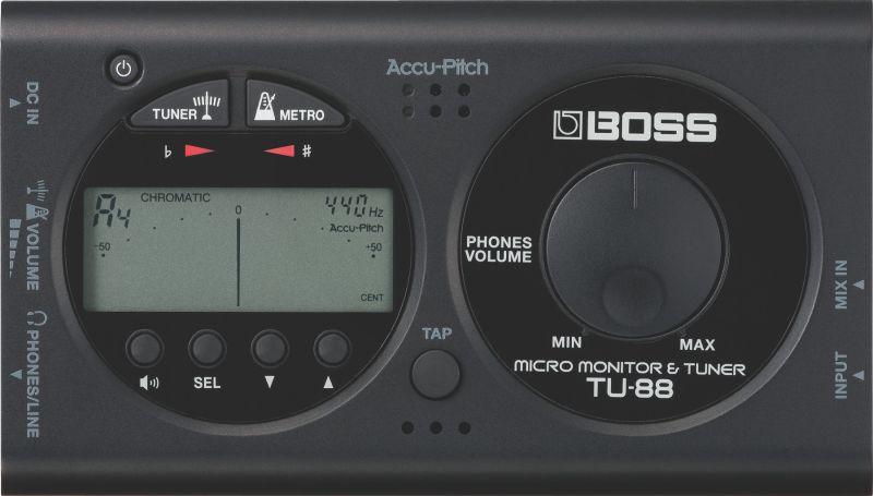 Boss TU 88 BK hangológép